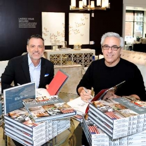 IFDA mitchell-gold-bob-williams book signing-office